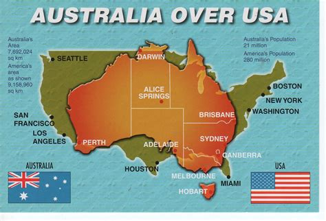 map of usa labeled by australian australia usa map with flags 11 x 17cm sam p flickr