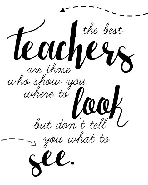 printable inspirational quotes for teachers teacher quote free printable free printable teacher and