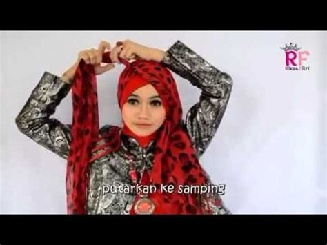 youtube tutorial hijab pesta pashmina tutorial hijab pashmina long simple untuk pesta riksa