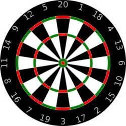 Alfa img showing gt dart board vector art