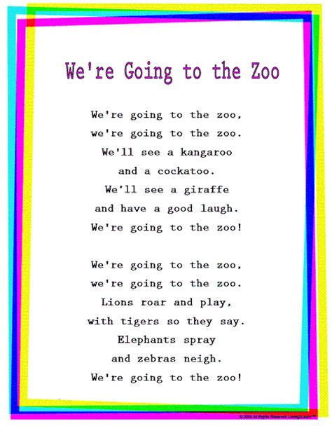 we re going to be friends books rhymes songs quot we re going to the zoo quot read sing