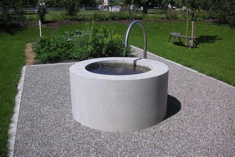 Brunnen Garten Design