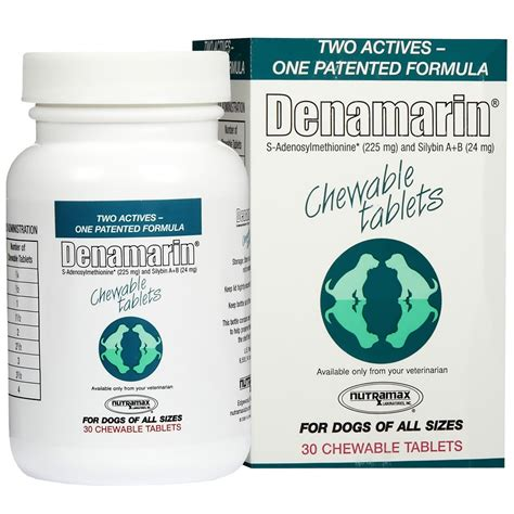 denamarin for dogs denamarin 225 mg for dogs of all sizes 30 tabs