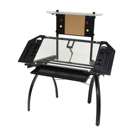 studio designs glass drafting table studio designs futura tower adjustable drafting table