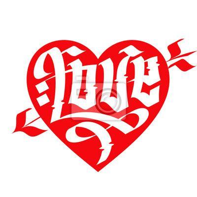 imagenes goticas letras cuadro amor de la tipograf 237 a tipograf 237 a del coraz 243 n