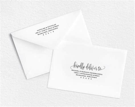Envelope Template Printable Envelope Wedding Envelope Printable Editable Envelope Template Rsvp Envelope Template