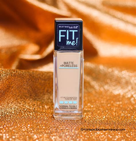Maybelline Fit Me Matte Poreless Foundation Review maybelline fit me matte poreless foundation review toffee caramel 330 kohls and blushes