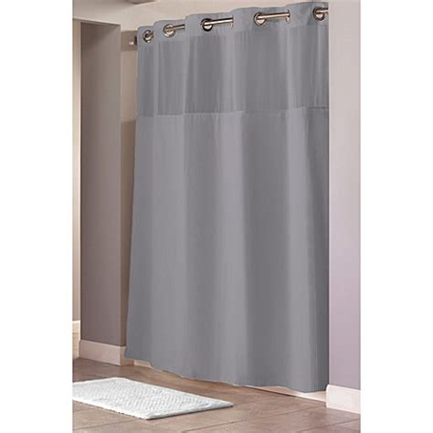 74 shower curtain liner buy hookless 174 waffle 71 inch x 74 inch fabric shower