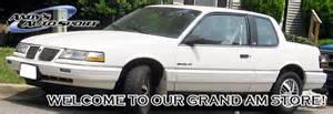 91 Pontiac Grand Am Pontiac Grand Am Parts Grand Am Sport Compact Car Parts