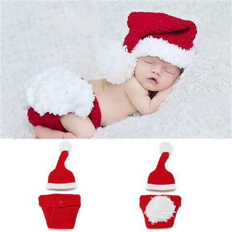 aliexpress com buy newborn baby santa claus photo props