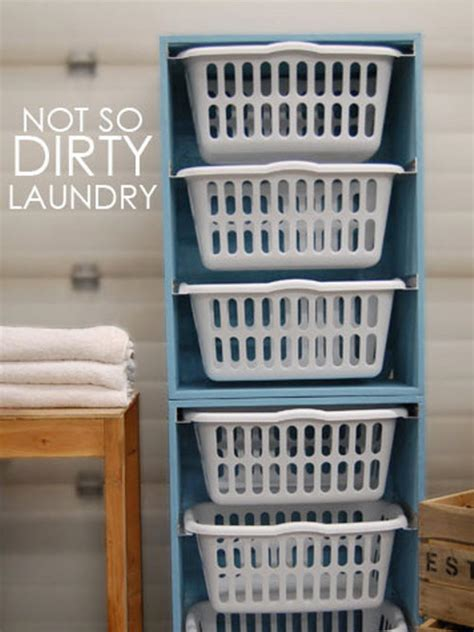 Laundry Room Storage Bins Portable Laundry Room Storage Unit Hgtv