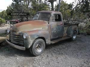 1950 chevy 1 2 ton truck rat rod patina