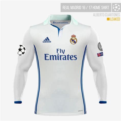 Tshirt Real Madrid Ladacima New real madrid 2016 2017 home shirt according to leaks