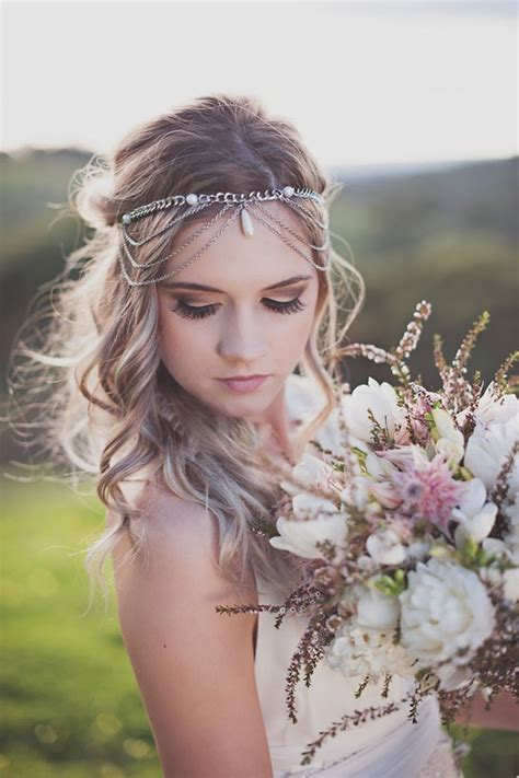 Best Boho Wedding Hairstyles by Wedding Accessories 20 Charming Bridal Headpieces To Match