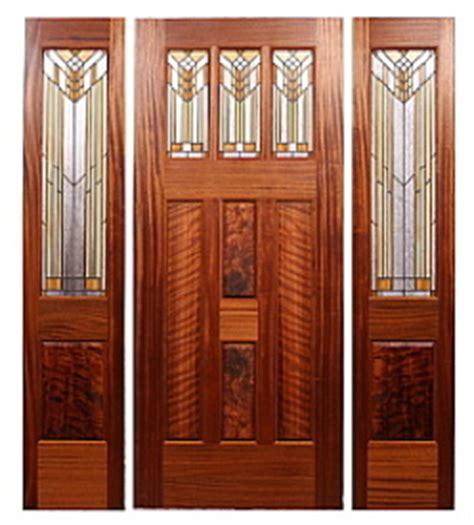 Prairie Style Exterior Doors Custom Prairie Style Doors By Mendocino Custom Doors