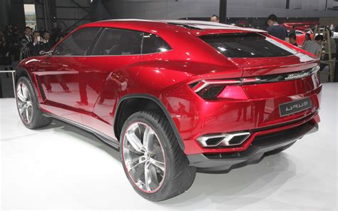 the new lamborghini truck the inevitable sport suv from lamborghini