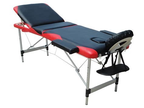 portable couch table massage table 3 section lightweight portable folding