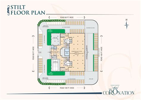 Airport Floor Plan The Coronation International Airport Jaipur Floor Plan
