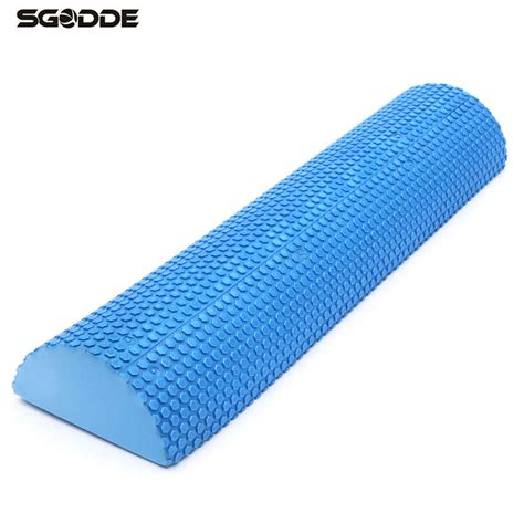 Fitness Foam Roller Pilates Foam Roller T0210 60cm half â foam foam roller pilates fitness î foam foam roller exercise