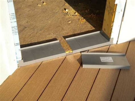 Install Exterior Door Threshold Exterior Doors Bscconstruction S
