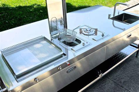 cocina outdoors cucina outdoor 250 alpes inox