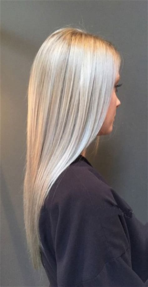 silvery blonde hair color silver hair mane interest
