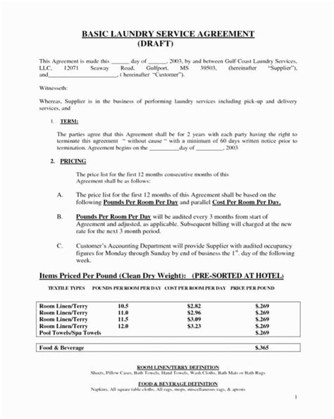 managed service provider contract template agreement for services 75