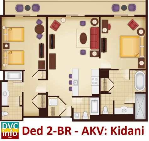 animal kingdom villas floor plan disney s animal kingdom villas dvcinfo
