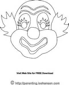 jester mask template crafts activities and sunglasses on