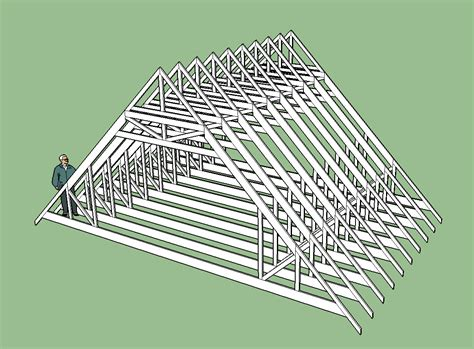 garage truss design building garage with engineered trusses carpentry page