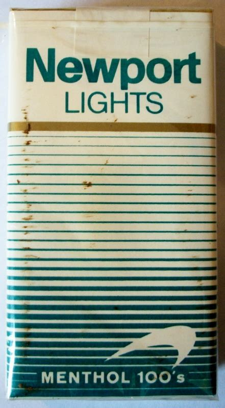 newport lights newport lights menthol 100s 2 441 215 800 cigarette collector