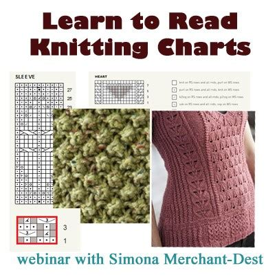 how to read knitting charts learn to read knitting charts on demand web seminar