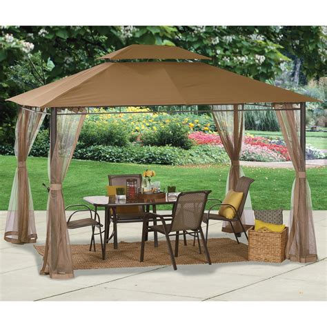 Gazebo For Patio by Deluxe Patio Gazebo Tent 10ft X 12ft Www Kotulas