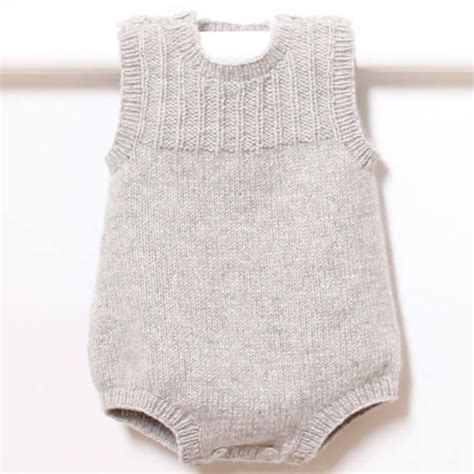 knitting pattern newborn romper 41 baby romper knitting pattern instructions in