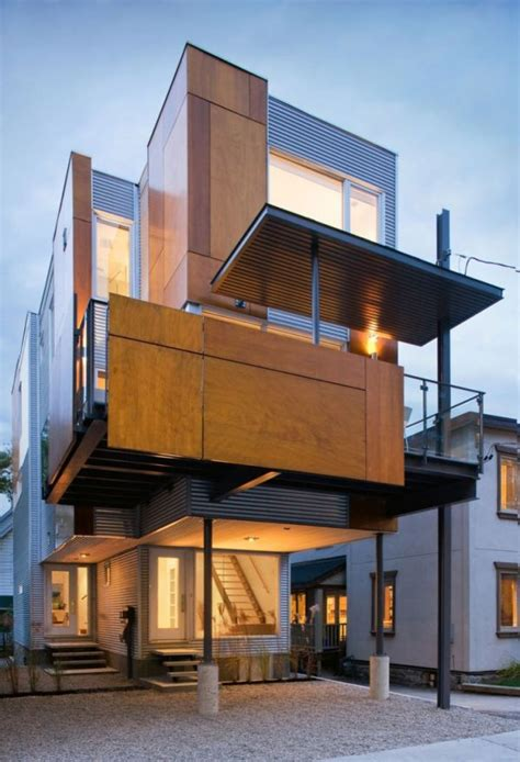 compact houses unique house design by colizza bruni architecture