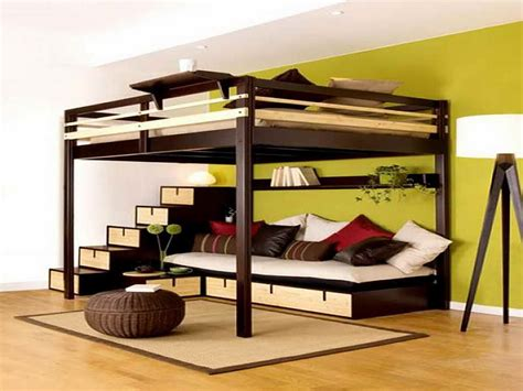 teen bunk beds small bedroom design idea bunk beds with couch underneath
