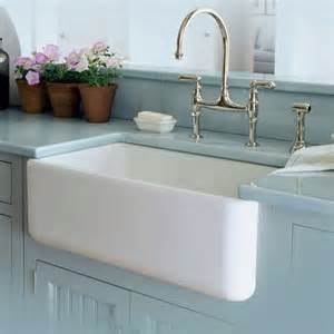Kitchen Sinks And Faucets by Fireclay Kitchen Sinks Fireclay Single Bowl Fireclay