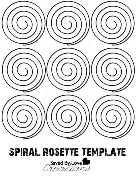 rosette template printable tutorial astrobrights paper rosette magnetic locker