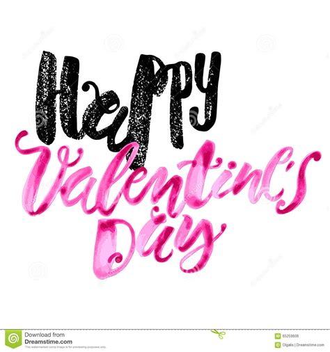 happy valentines day posts happy valentines day concept lettering