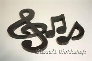music note home decor 15 treble clef set decoration home decor musical note
