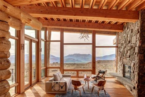 ladder rustic architecture warm interior design living 15 warm cozy rustic living room designs for a cozy