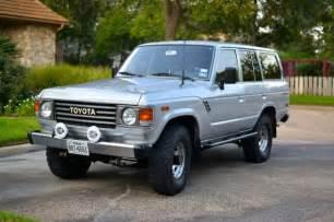 Toyota Land Cruiser Fj60 For Sale For Sale Fj60 Toyota Land Cruiser 1985 Must See