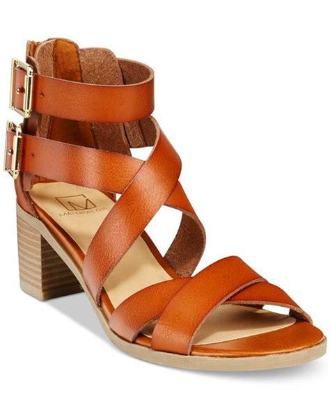 macys sandals material danee block heel city sandals only at macy