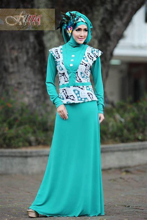 Fitri Tosca azarine by fitria style tosca baju muslim gamis modern