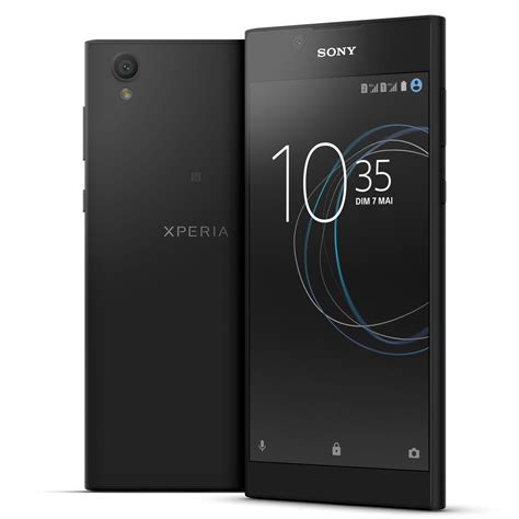 sony dual sim mobile sony xperia l1 dual sim 16 go noir mobile smartphone