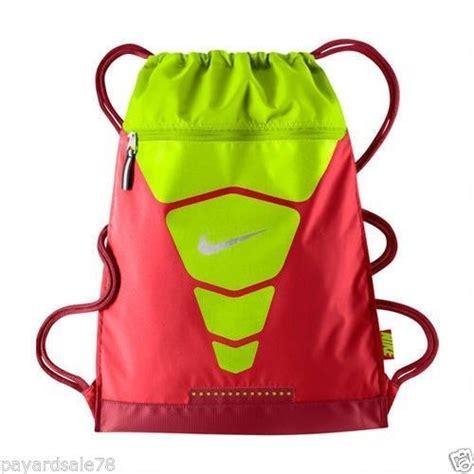 nike vapor sack back pack sports book bag volt