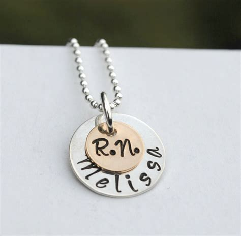 jewelry rn necklace graduation gift for rn