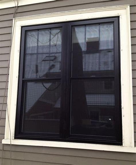black exterior windows dlm remodeling contractors just finished installing some