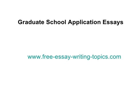 Graduate School Essay Prompts by Tips For Mba Application Essays Writing