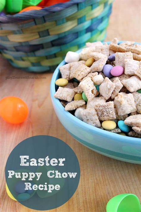 puppy chow ingredients easter puppy chow recipe and thyme